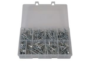Connect 31843 475 Piece Assorted Popular Rivets